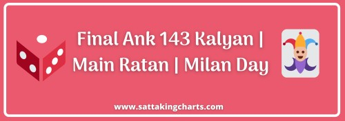 final ank 143 kalyan