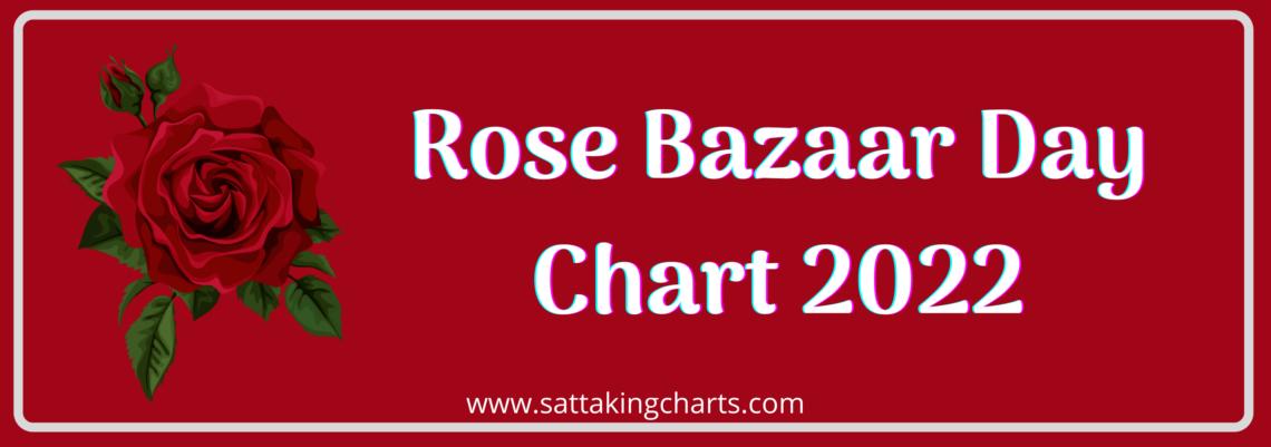 Rose Bazaar Day Chart